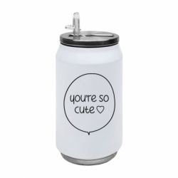 Термобанка 350ml You're so cute