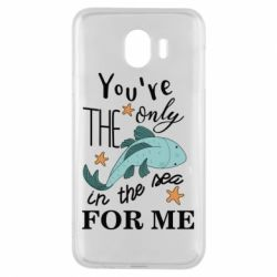 Чохол для Samsung J4 You're the only in the sea for me