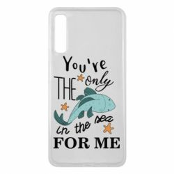 Чохол для Samsung A7 2018 You're the only in the sea for me