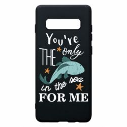 Чохол для Samsung S10+ You're the only in the sea for me
