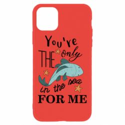 Чохол для iPhone 11 You're the only in the sea for me