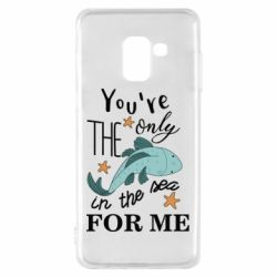 Чохол для Samsung A8 2018 You're the only in the sea for me