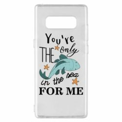 Чохол для Samsung Note 8 You're the only in the sea for me