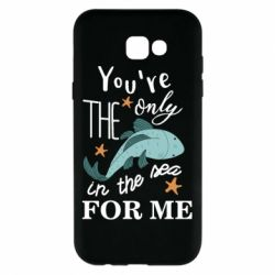 Чохол для Samsung A7 2017 You're the only in the sea for me