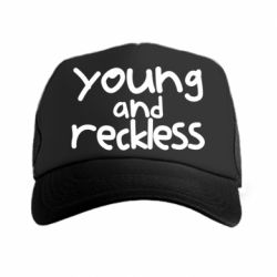 Кепка-тракер Young and Reckless