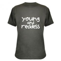 Камуфляжна футболка Young and Reckless