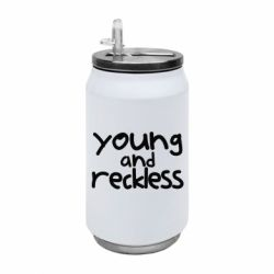 Термобанка 350ml Young and Reckless