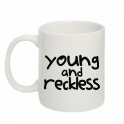 Кружка 320ml Young and Reckless