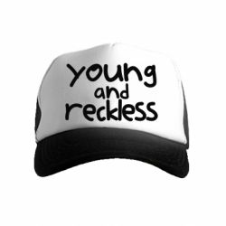 Дитяча кепка-тракер Young and Reckless