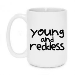 Кружка 420ml Young and Reckless