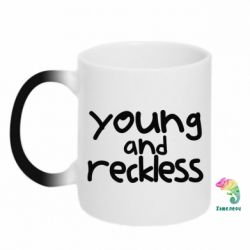 Кружка-хамелеон Young and Reckless