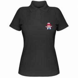 Жіноча футболка поло Young doctor