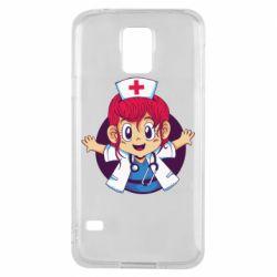 Чохол для Samsung S5 Young doctor