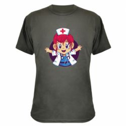 Камуфляжна футболка Young doctor