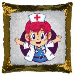 Подушка-хамелеон Young doctor