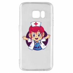 Чохол для Samsung S7 Young doctor