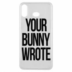 Чохол для Samsung A6s Your bunny wrote