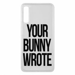 Чохол для Samsung A7 2018 Your bunny wrote
