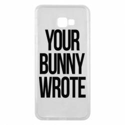 Чохол для Samsung J4 Plus 2018 Your bunny wrote