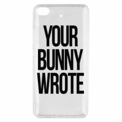Чохол для Xiaomi Mi 5s Your bunny wrote