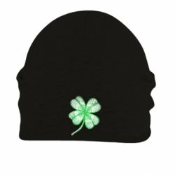 Шапка на флісі Your lucky clover
