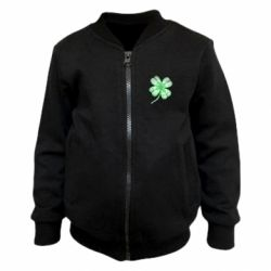 Детский бомбер Your lucky clover