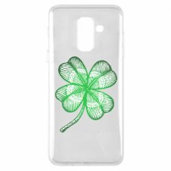 Купить St. Patrick's Day, Чехол для Samsung A6+ 2018 Your lucky clover, FatLine