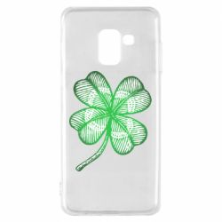 Чохол для Samsung A8 2018 Your lucky clover