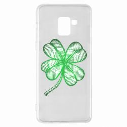Чохол для Samsung A8+ 2018 Your lucky clover