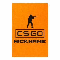 Блокнот А5 Ваш псевдоним в игре CsGo