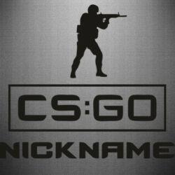 Наклейка Ваш псевдоним в игре CsGo