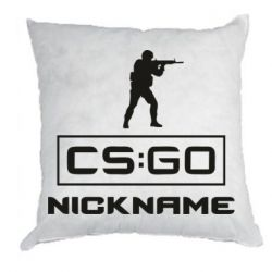 Подушка Ваш псевдоним в игре CsGo
