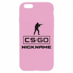 Чехол для iPhone 6 Plus/6S Plus Ваш псевдоним в игре CsGo