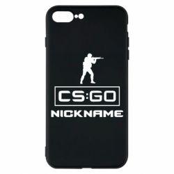 Чехол для iPhone 7 Plus Ваш псевдоним в игре CsGo