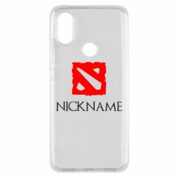 Чехол для Xiaomi Mi A2 Your nickname Dota2