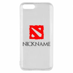 Чехол для Xiaomi Mi6 Your nickname Dota2
