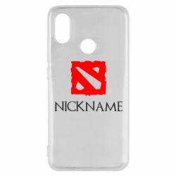 Чехол для Xiaomi Mi8 Your nickname Dota2
