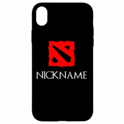 Чохол для iPhone XR Your nickname Dota2