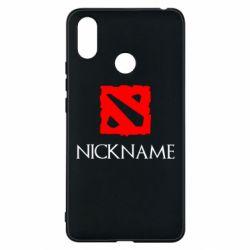 Чехол для Xiaomi Mi Max 3 Your nickname Dota2