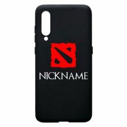 Чехол для Xiaomi Mi9 Your nickname Dota2