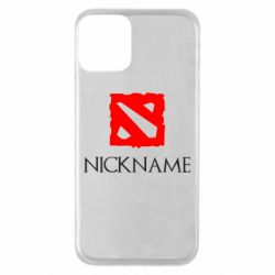 Чохол для iPhone 11 Your nickname Dota2
