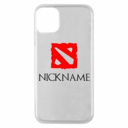 Чохол для iPhone 11 Pro Your nickname Dota2