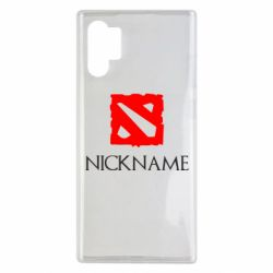 Чохол для Samsung Note 10 Plus Your nickname Dota2