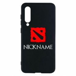 Чехол для Xiaomi Mi9 SE Your nickname Dota2