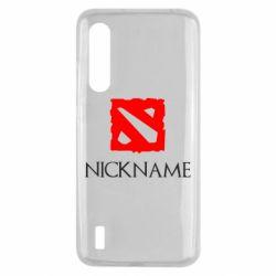 Чехол для Xiaomi Mi9 Lite Your nickname Dota2