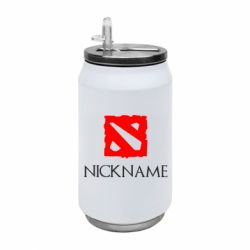 Термобанка 350ml Your nickname Dota2