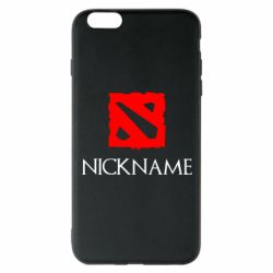 Чохол для iPhone 6 Plus/6S Plus Your nickname Dota2