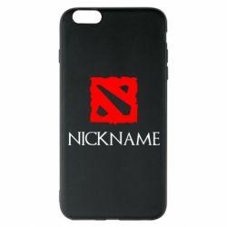 Чохол для iPhone 6 Plus/6S Plus Your nickname Dota2
