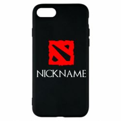 Чохол для iPhone 7 Your nickname Dota2