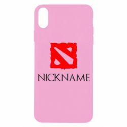 Чохол для iPhone X/Xs Your nickname Dota2